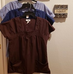 V Life Scrubs Tops Bundle